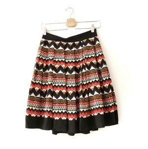 Anthropologie Fei Denpasar Aztec Lined Skirt 2